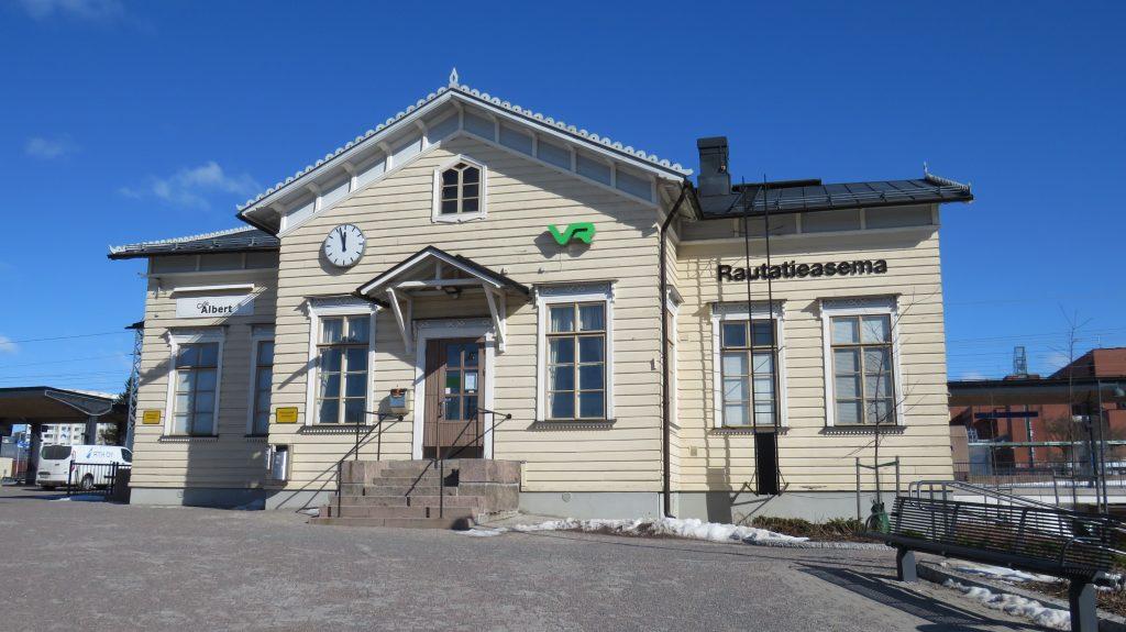 Kuva Järvenpään rautatieasemalta